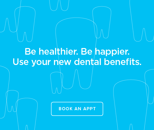 Be Heathier, Be Happier. Use your new dental benefits. - Harper's Preserve Dentistry